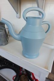 Kunststof gieter blauw, 9.5 liter