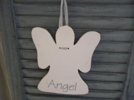 Engel wit, S