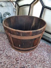 Brocante houten plantenbak