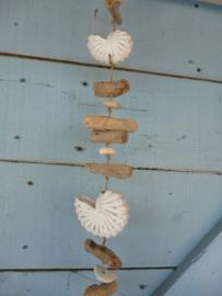 Hanger houten schelp