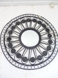 Wanddecoratie  met spiegel