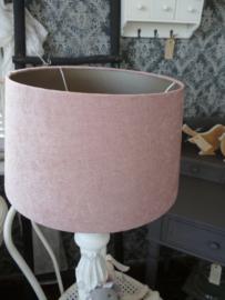 Grote lampenkap, roze
