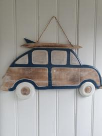 Wandhanger auto met surfplank