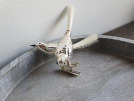 Vintage vogel op clip dubbel 110
