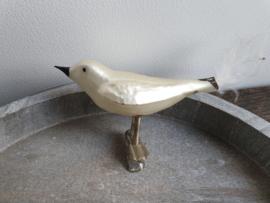 vintage vogel op clip wit 103
