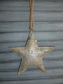 Kerst hanger ster , zink Middel