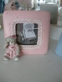 Foto lijstje , roze