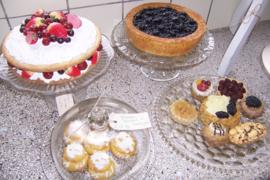 Zwarte bessen taart