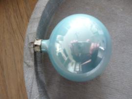 Oude kerstbal blauw, 29