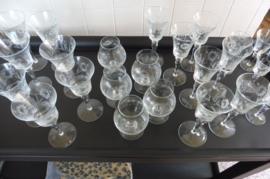 Brocante borrel glas