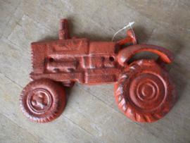 Wand flessen opener, tractor