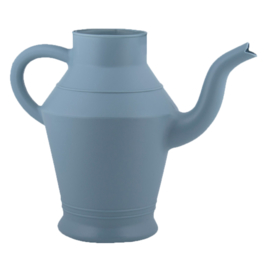 Kunststof gieter blauw , 2 liter