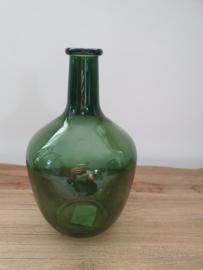 Vaas groen fles