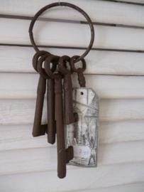 Sleutel bos , bruin