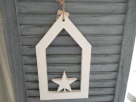 Houten hanger, ster