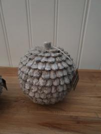 Bol ornament betonlook