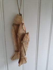 Set  houten vissen hanger