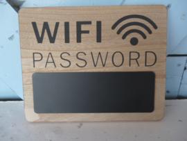Tekst bord wifi
