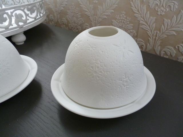 Waxine lichtje wit
