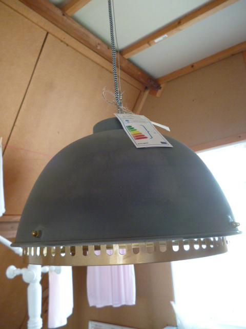 Hanglamp, beton look