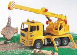 MAN kraanwagen / takel geel