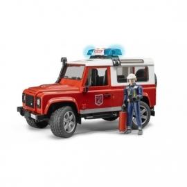 Brandweer jeep met poppetje