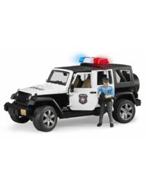 Politie Jeep met politieagent (politieauto)