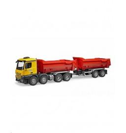 MB Arocs Halfpipe dump truck