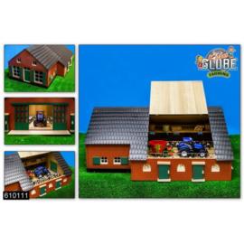 Woonboerderij met stal