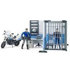Politiebureau met motor
