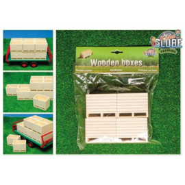 Houten palletboxen / aardappelkisten