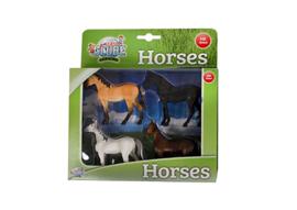 Paarden 4 stuks
