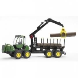 John Deere houttransport