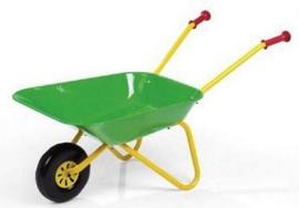 kruiwagen met groene bak