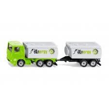 Energy tankwagen en aanhanger