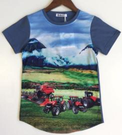 Shirt korte mouw Case voertuigen
