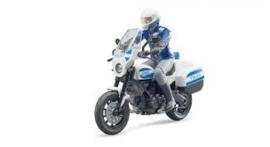 Scramble Ducati motor met agent