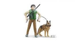 Boswachter met hond