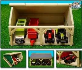 Tractorloods voor 4 tractoren / machines