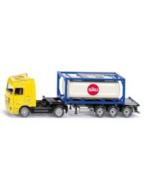 Truck met tankcontainer
