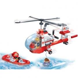 kleine reddingshelikopter