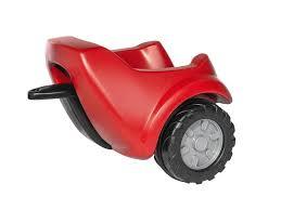 rode aanhanger voor minitrac