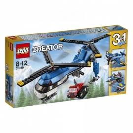 Dubbel rotor helikopter