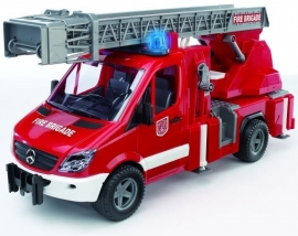 Mercedes Benz Sprinter brandweer ladderwagen.