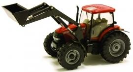 Case IH Maxxum 110 tractor met voorlader