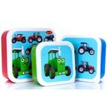 snackbakjes Tractoren set van 3