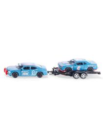 Dodge charger met Dodge challenger SRT raceauto