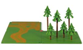 Toebehoren veldwegen en bos