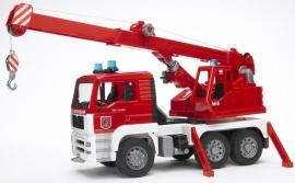 MAN brandweerkraan licht en geluid