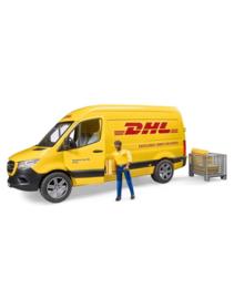 DHL bezorgbus